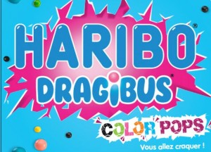 haribo Dragibu color pops
