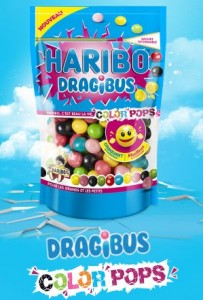 haribo Dragibu color pops paquet