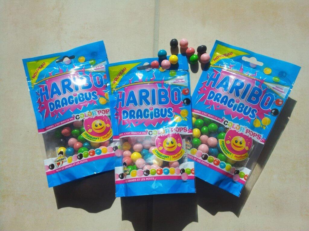 haribo dragibus color pops
