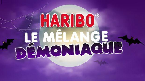 Gagnez des bonbons et biens plus avec HARIBO Le Mélange Démoniaque