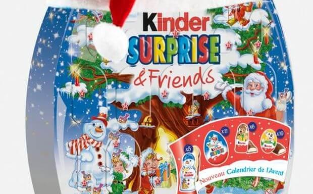 Les nouveautés de Noël chez Kinder