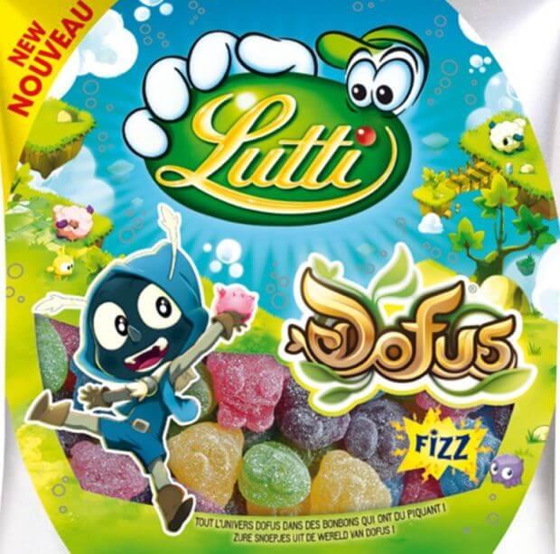 Découvrez les bonbons Dofus Fizz de chez Lutti
