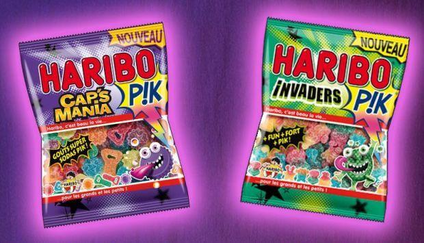 Edit : Découvrez les nouveaux Haribo Pik : Cap's Mania Pik et Invaders Pik
